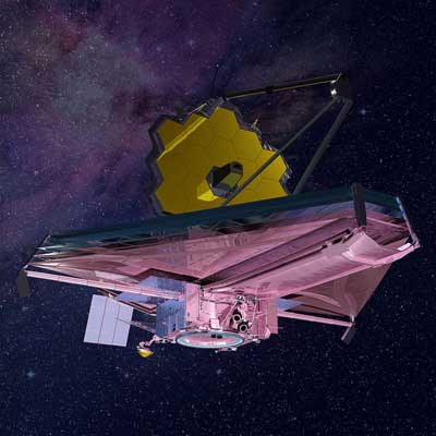 image satellite JWST